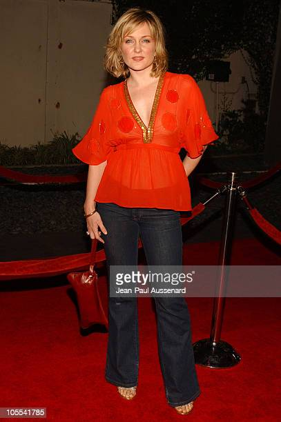 Amy Carlson during Paramount Pictures' 'Aeon Flux' Los Angeles Premiere Arrivals at Cinerama Dome in Los Angeles California United States