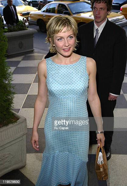 Amy Carlson during 'The Gracies' 26th Annual Gracie Allen Awards at The Plaza Hotel in New York City New York United States