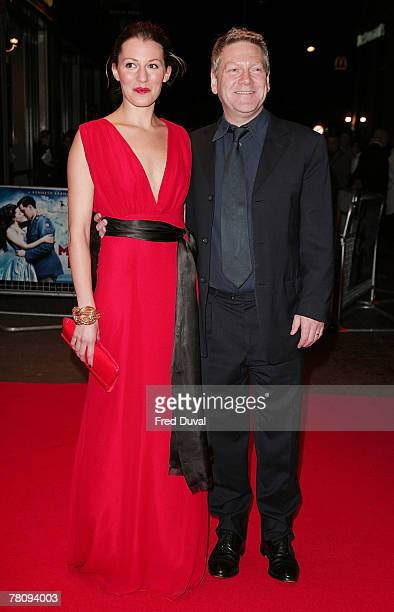 Amy Carson and Kenneth Branagh attends 'The Magic Flute' UK Premiere at the Odeon West End on November 26 2007 in London England