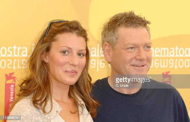 Amy Carson and Kenneth Branagh during The 63rd International Venice Film Festival The Magic Flute Photocall in Venice Italy