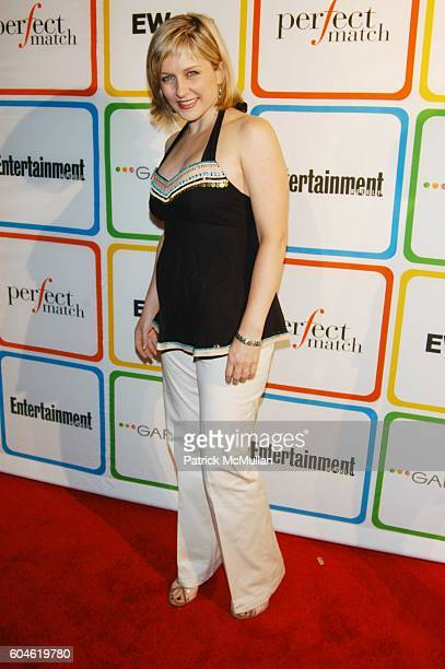 Amy Carson attends Entertainment Weekly Must List red carpet arrivals at Buddha Bar NYC on June 22 2006