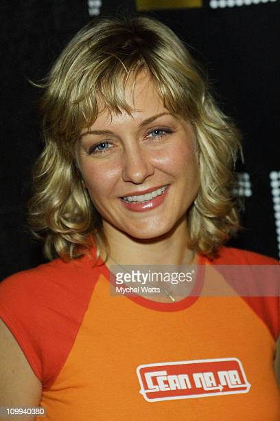 Amy Carson of Third Watch during Launch of the Ultimate Elvis Collection Elvis 30 Hits at Hard Rock Cafe New York in New York City New York United...