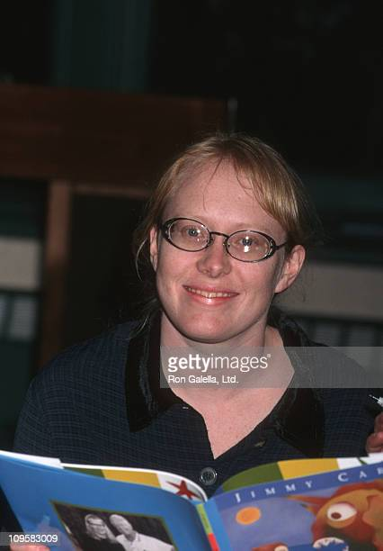 Amy Carter during The Little Baby Snoogle Fleejer Autographing Party December 13 1995 at Barnes Noble Bookstore in New York City New York United...