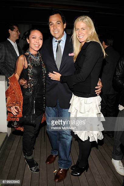 5c459713baf40c Amy Chan Sam Edelman and Libby Edelman attend CFDA New Members Party Hosted  by ELIE and