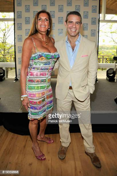 Amy Chanos and Andy Cohen attend MIRACLE HOUSE 20th Anniversary Memorial Day Summer Kickoff Benefit honoring Amy Chanos and Jim Chanos at...
