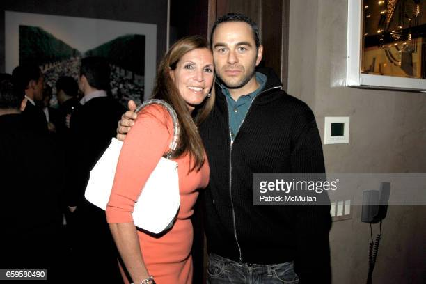 Amy Chanos and Eric Freeman attend Cocktail KickOff for ACRIA's 2009 Holiday Dinner at Private Gramercy Park Apartment on October 28 2009 in New York