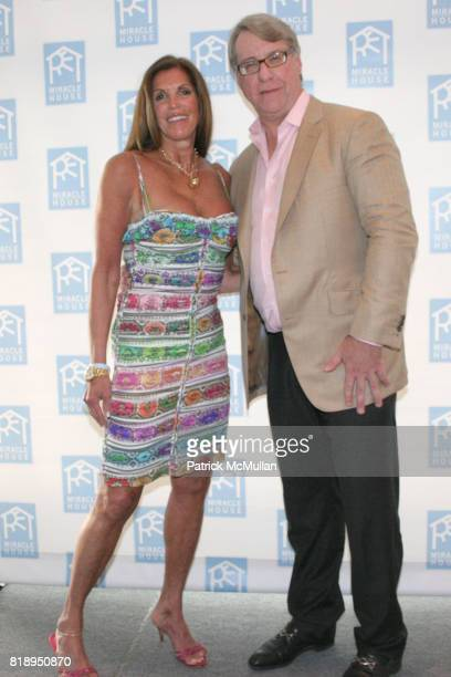 Amy Chanos and Jim Chanos attend MIRACLE HOUSE 20th Anniversary Memorial Day Summer Kickoff Benefit honoring Amy Chanos and Jim Chanos at...