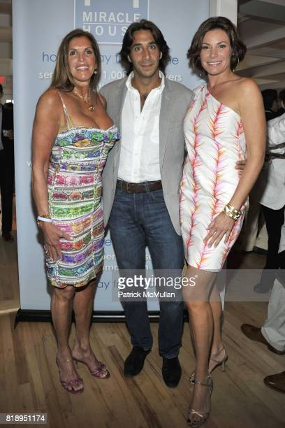 Amy Chanos Jacques Azoulay and Countess LuAnn de Lesseps attend MIRACLE HOUSE 20th Anniversary Memorial Day Summer Kickoff Benefit honoring Amy...