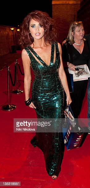 Amy Child attends Richard Desmond's birthday party at Old Billingsgate Market on December 8 2011 in London England