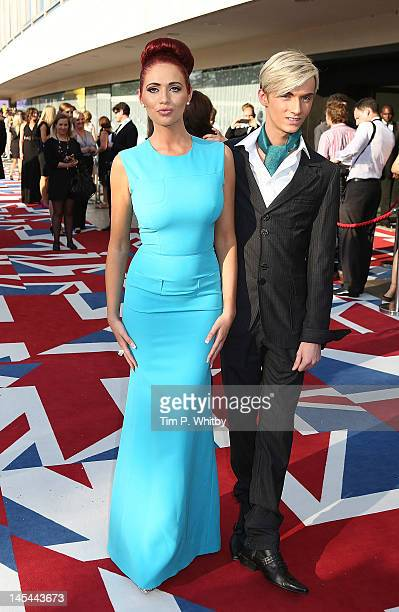 Amy Childs and Harry Derbridge attends The 2012 Arqiva British Academy Television Awards at the Royal Festival Hall on May 27 2012 in London England