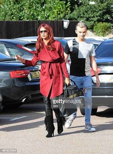 Amy Childs and Harry Derbridge sighting on October 8 2015 in London England