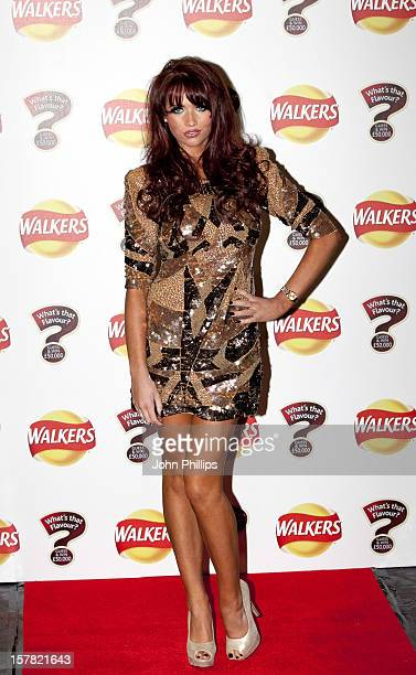 Amy Childs Arrives At The Walkers 'What'S That Flavour' Launch Party, At Roast In Borough Market, London.