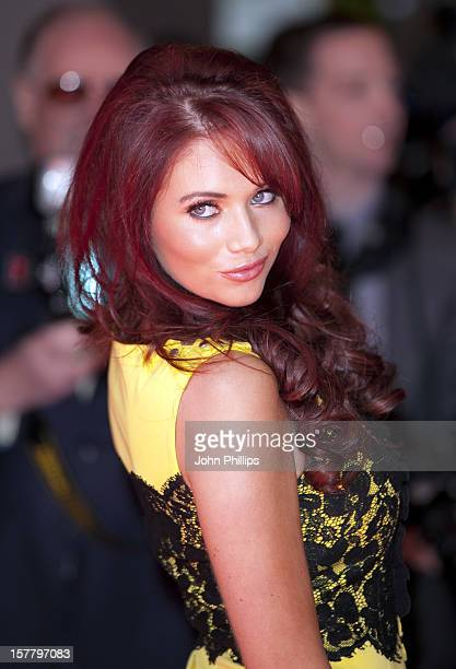 Amy Childs Arriving At The Tesco Magazine Mum Of The Year 2012 At The Waldorf Hilton Hotel, London.