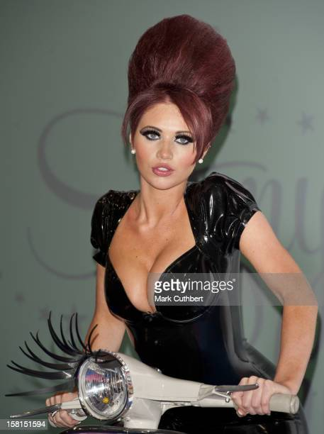 Amy Childs At The Launch Of Her New Eyelash Collection Amy Child's Lashes At The Professional Beauty Show Excel Centre London