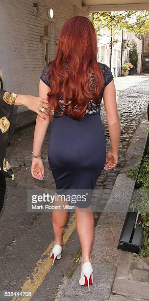 Amy Childs attending the Amy Childs Spring Summer 2016 Fashion Showcase on June 6 2016 in London England