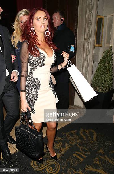 Amy Childs attending The Sun Bizarre Party at Steam and Rye on March 2 2015 in London England