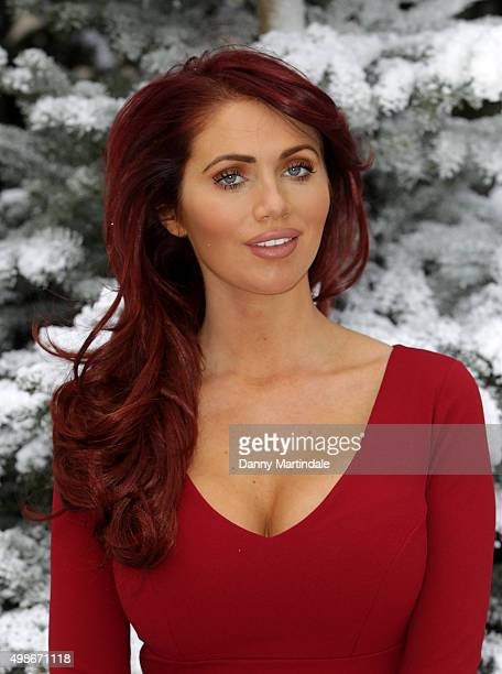 Amy Childs attends a photocall as the Ideal Home Show At Christmas opens at Olympia Exhibition Centre on November 25 2015 in London England