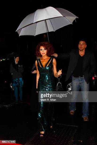 Amy Childs attends the 60th Birthday Celebration of Richard Desmond at Old Billingsgate Market on December 8 2011 in London England