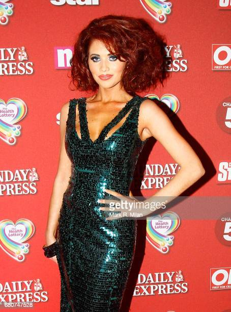 Amy Childs attends the 60th Birthday Celebration of Richard Desmond at Old Billingsgate Market on December 8, 2011 in London, England.