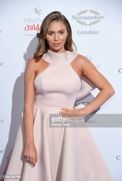 Amy Childs attends the Butterfly Ball 2019 at The Grosvenor House Hotel on June 13 2019 in London England