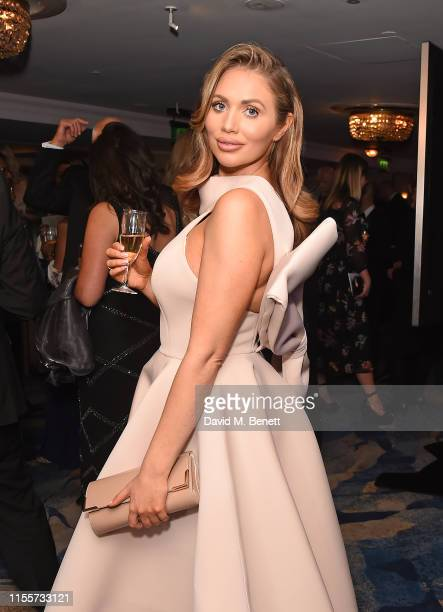 Amy Childs attends The Caudwell Children Butterfly Ball at The Grosvenor House Hotel on June 13 2019 in London England