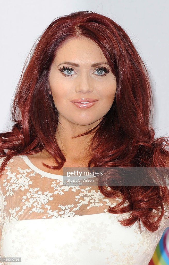 Amy Childs attends the Health Lottery tea party at The Savoy Hotel on June 2, 2014 in London, England.