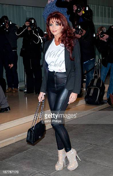 Amy Childs Attends The Kandee Shoes S/S 2012 Collection Launch At The Sanderson Hotel In London