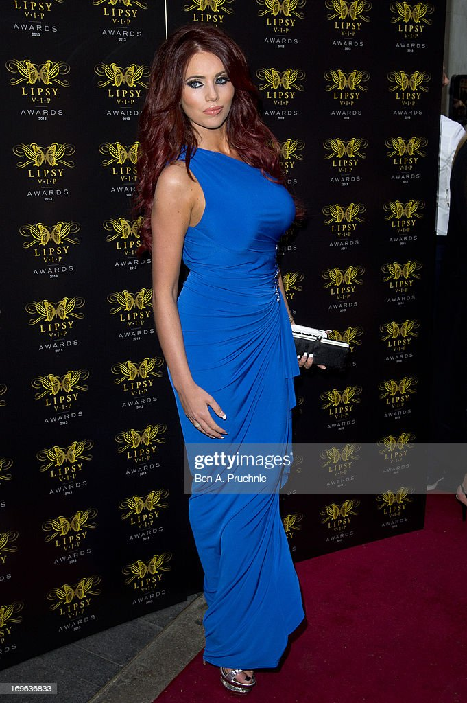 Amy Childs attends the Lipsy VIP Fashion Awards 2013 at Dstrkt on May 29, 2013 in London, England.