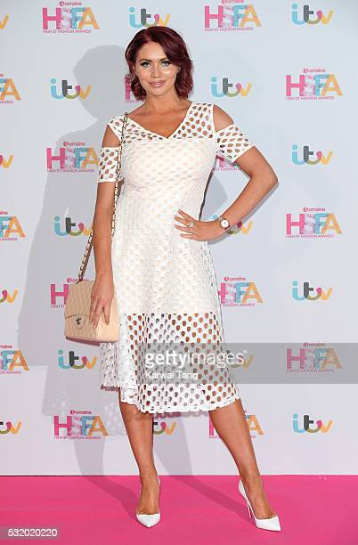 Amy Childs attends the Lorraine's High Street Fashion Awards at Grand Connaught Rooms on May 17 2016 in London England