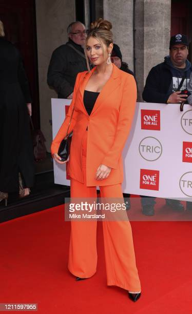 Amy Childs attends the TRIC Awards 2020 at The Grosvenor House Hotel on March 10 2020 in London England