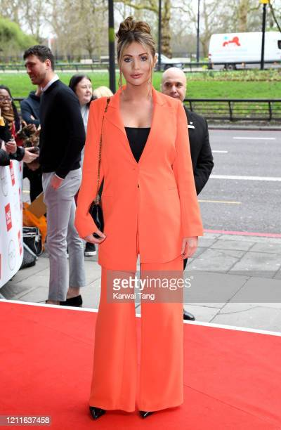 Amy Childs attends the TRIC Awards 2020 at The Grosvenor House Hotel on March 10, 2020 in London, England.