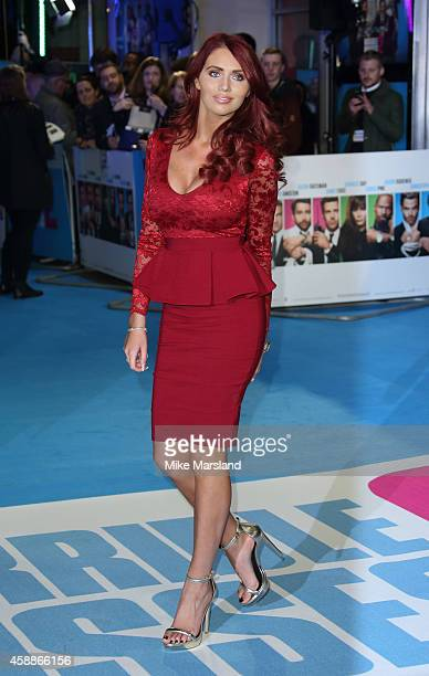 Amy Childs attends the UK Premiere of Horrible Bosses 2 at Odeon West End on November 12 2014 in London England