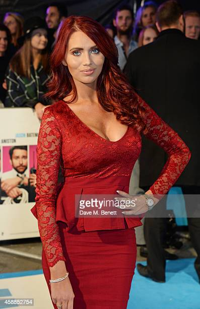 Amy Childs attends the World Premiere of 'Horrible Bosses 2' at Odeon West End on November 12 2014 in London England