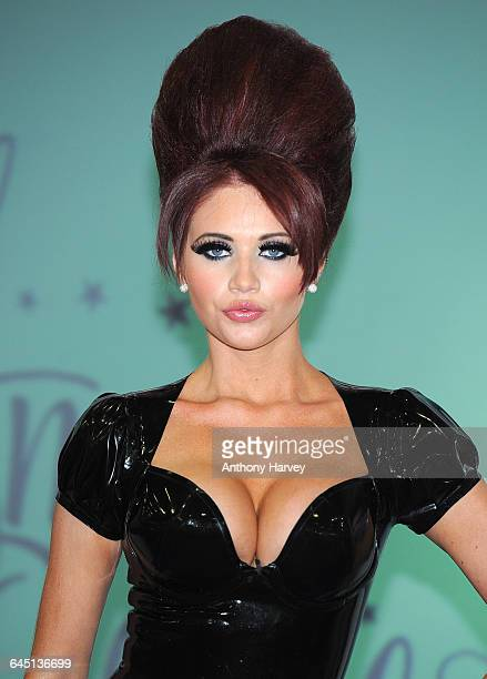 Amy Childs launches her new eyelash collection 'Amy Child's Lashes' on March 5 2012 in London