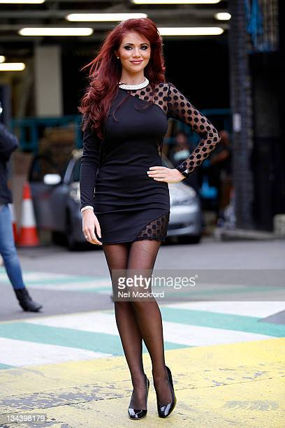 Amy Childs seen at The ITV Studios on December 1 2011 in London England