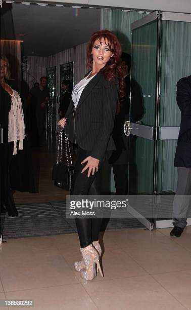 Amy Childs sighting on February 8 2012 in London England