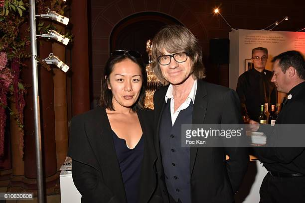 "Amy Chow and Frederic Rebet from Label Le Chiffre attend ""Best of Paris Volume 3 "": Catalogue Launch Cocktail at Musee des Arts et Metiers on..."