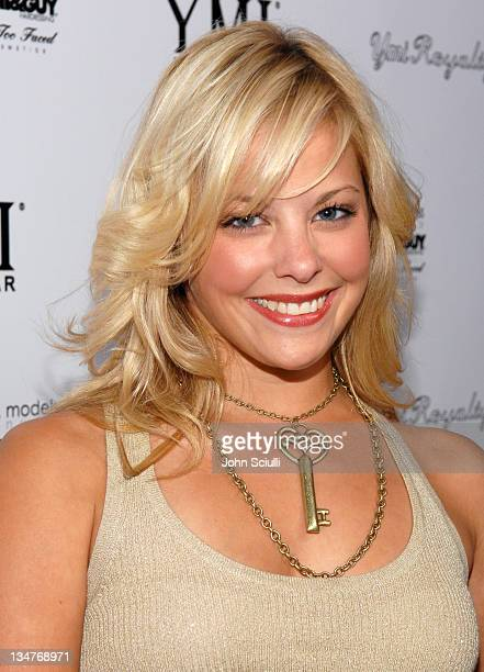 Amy Christine Paffrath during YMI Jeans Fashion Show and Party in Los Angeles California United States