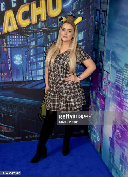Amy Christophers attends the Pokemon Detective Pikachu Popup at Covent Garden on May 02 2019 in London England