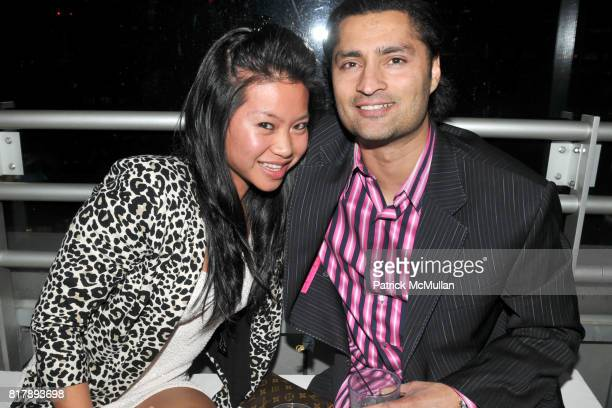 Amy Chu and Taj Chahal attend ASSOCIATION to BENEFIT CHILDREN Junior Committee Fundraiser at Gansevoort Hotel on September 14 2010 in New York City