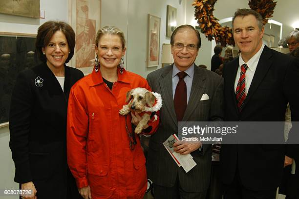 Amy Churgin Robin Bell Thumper Paul Hale and Eric Barsness attend NYDC ARCHITECTURAL DIGEST Present BARK Celebrating Designers Best Friends at New...