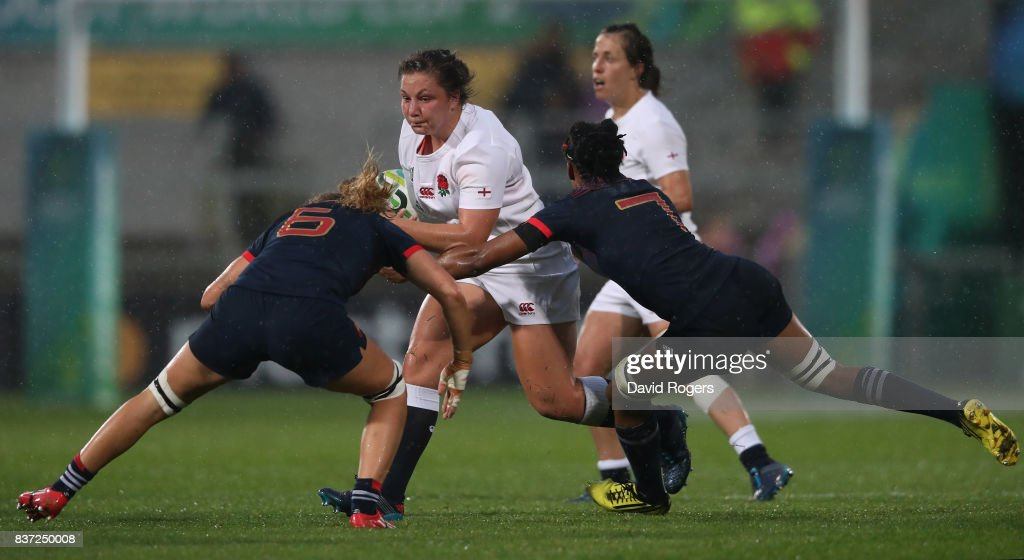 England v France - Women's Rugby World Cup 2017 Semi Final
