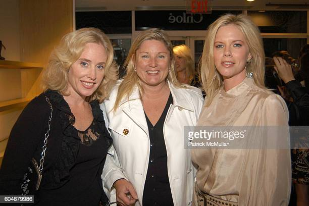 Amy Courtney Arnot and Lea attend Chloe/New Yorkers For Children at Chloe Boutique on September 13 2006 in New York City