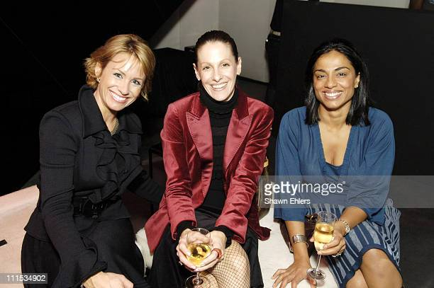 Amy Cuccolo Dina Jarmolich and Judy McCormick during Yves Saint Laurent Holiday Shopping Night Benefitting St Barnabas Burn Center at Yves Saint...