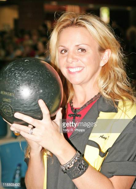 Amy Dalley during Lonestar And Friends Strike Out For The Kids - 2nd Annual Bowling Party for St. Jude Children's Research Hospital at Hermitage...