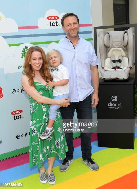 Amy Davidson and Kacy Lockwood attend Step2 Presents 7th Annual Celebrity Red CARpet event by New Bloom Media Benefitting Baby2Baby at Sony Pictures...