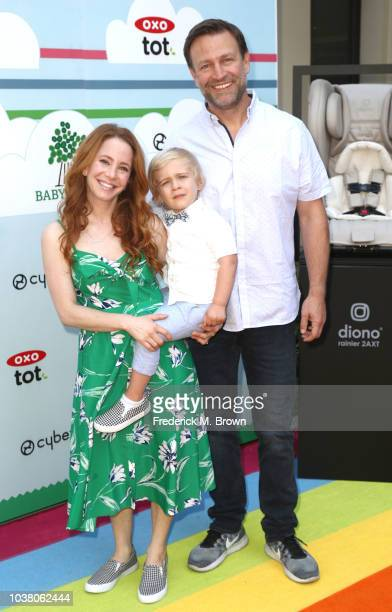 Amy Davidson and Kacy Loockwood attend Step2 Presents 7th Annual Celebrity Red CARpet Event by New Bloom Media Benefiting Baby 2 Baby at Sony...