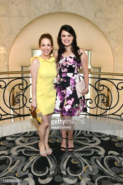 Amy Davidson and Kimberly Brown at Step Up Inspiration Awards at the Beverly Wilshire Four Seasons Hotel on May 31 2019 in Beverly Hills California