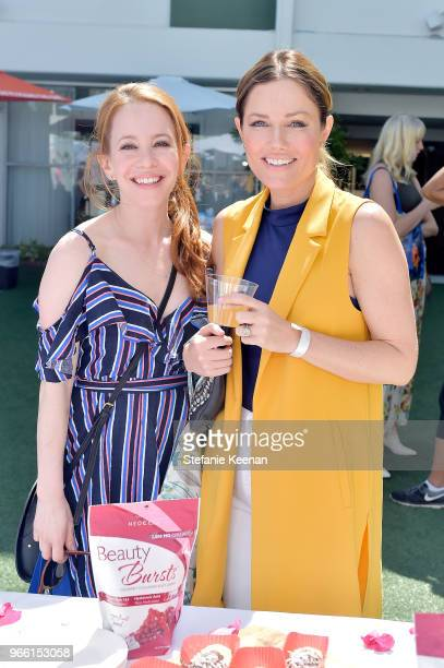 Amy Davidson and Pamelyn Rocco attend Neocell Presents Bloom Summit at The Beverly Hilton Hotel on June 2 2018 in Beverly Hills California