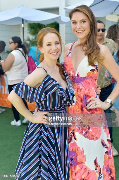 Amy Davidson and Virginia Williams attend Neocell Presents Bloom Summit at The Beverly Hilton Hotel on June 2 2018 in Beverly Hills California